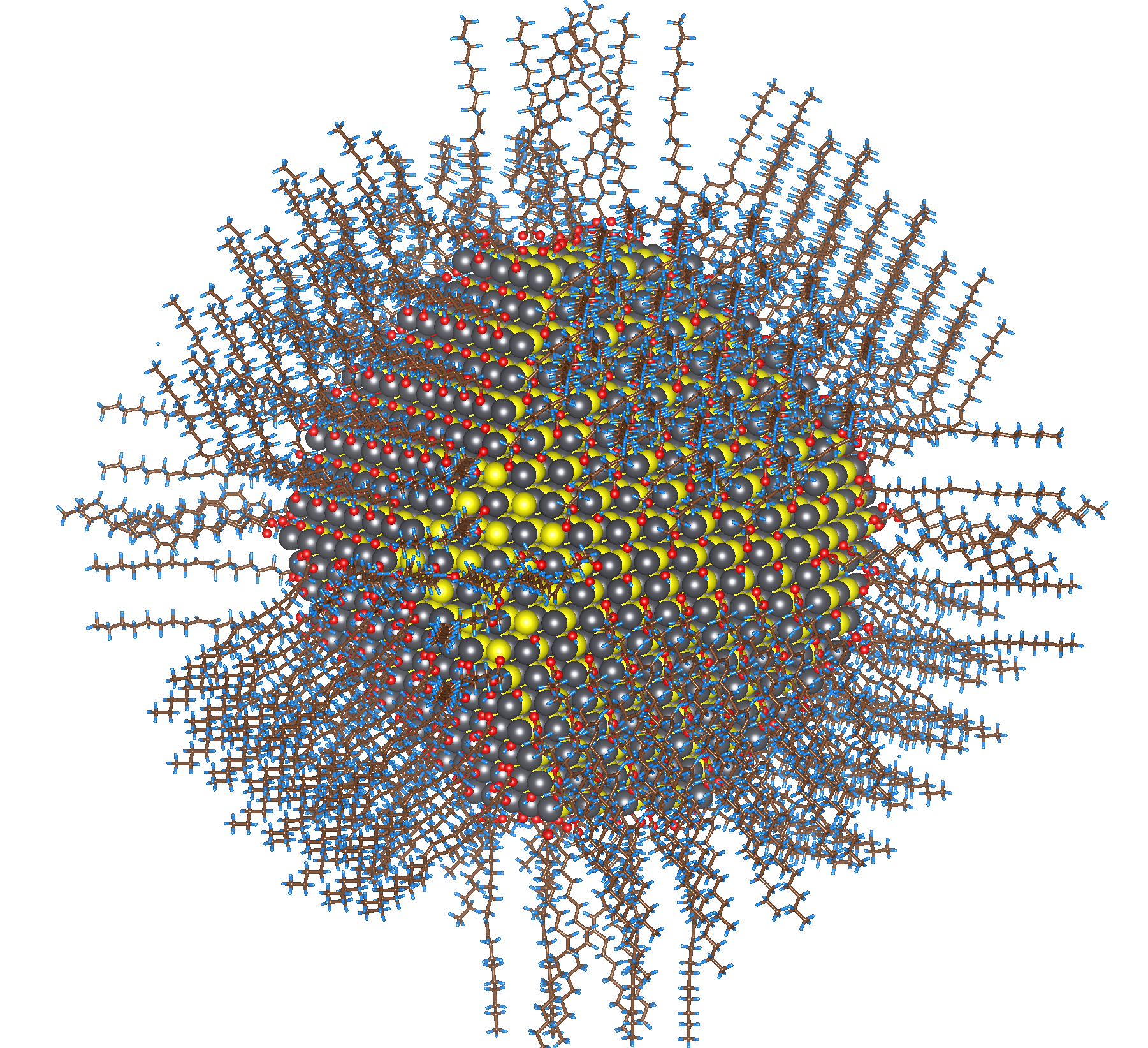 Colloidal_nanoparticle_of_lead_sulfide_(selenide)_with_complete_passivation